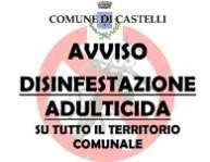 AVVISO DISINFESTAZIONE ADULTICIDA NELLA NOTTE TRA l' 11 ed il 12 AGOSTO